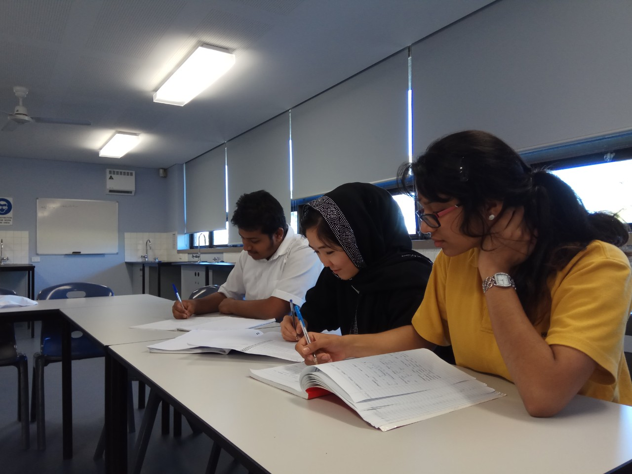 Students studying English as an additional language or dialect.