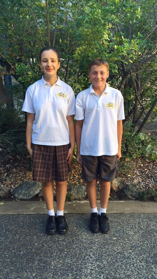 Year 7 to 12 students wear a school polo shirt with a skirt or shorts on Monday, Wednesday, Thursday and Friday.